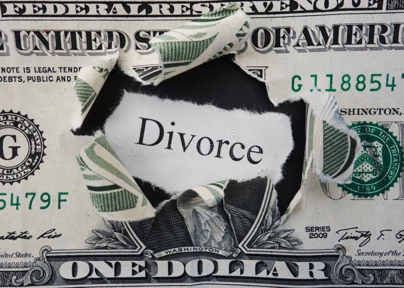 Rasgo do divórcio fotos de stock