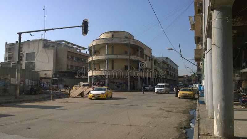 Rasheed Street imágenes de archivo libres de regalías