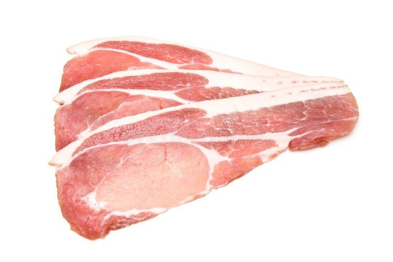 Rashers of bacon stock photography