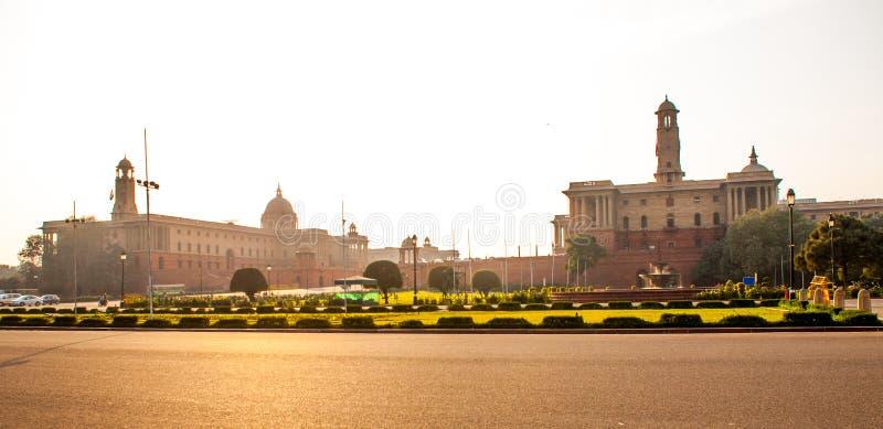 Rashtrapati Bhavan est la maison officielle du président de l'Inde photos stock