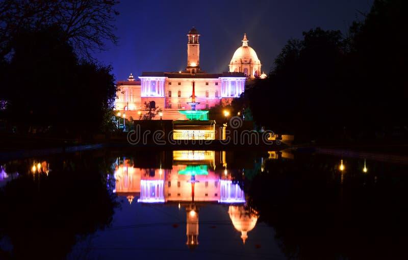 Rashtrapati bhawan New Delhi India 1 zdjęcie royalty free