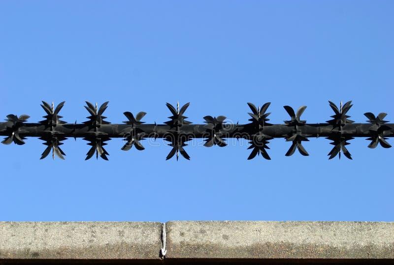 Download Rasiermesser-Draht 2 stockbild. Bild von kapitel, riß, gefahr - 49767