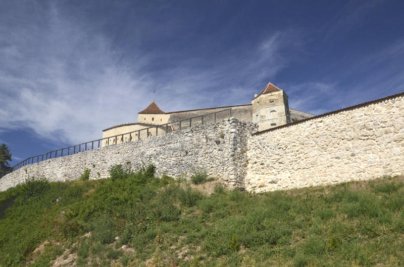 Download Rasnov citadel, Romania stock photo. Image of fortification - 26521388