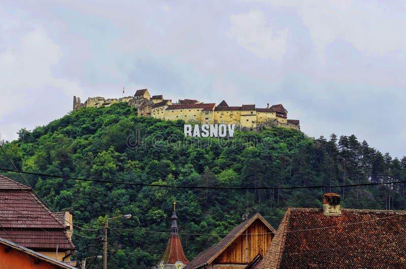 Rasnov Citadel in Romania. royalty free stock photo