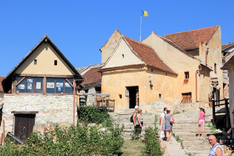 Rasnov Citadel stock image