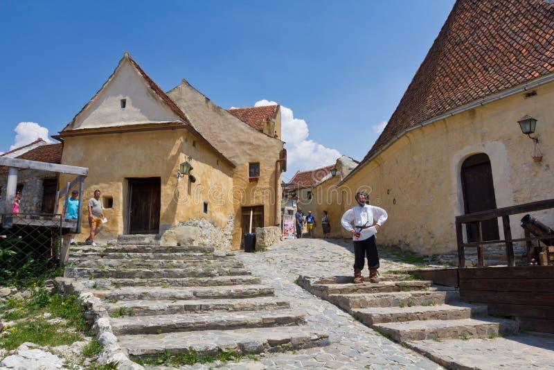 Rasnov citadel VII stock photo