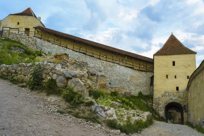 Rasnov forteca inside zdjęcia royalty free