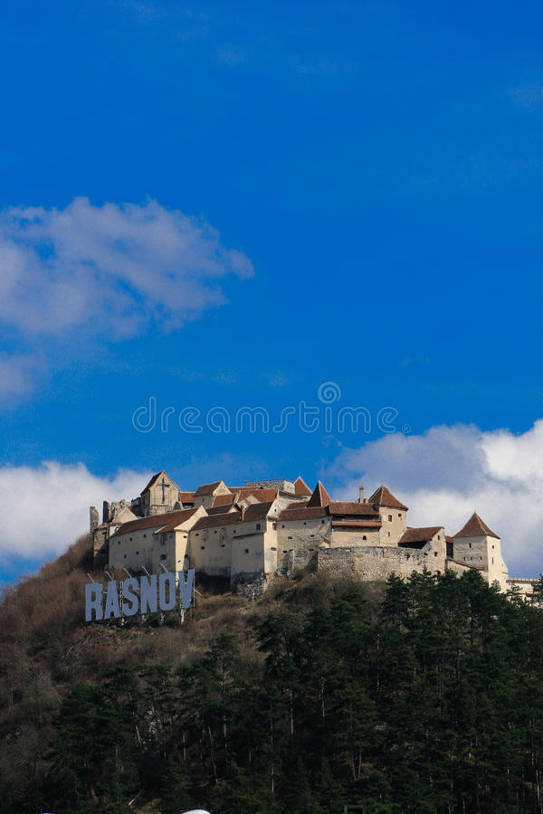 Rasnov Fortress,fortified Castle, Romania Royalty Free Stock Photos