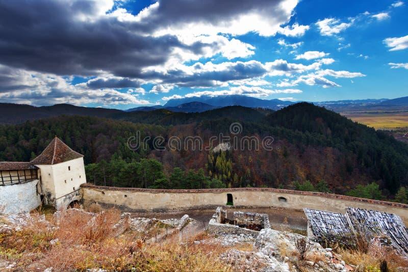 Rasnov a Transilvânia - Romênia fotografia de stock royalty free