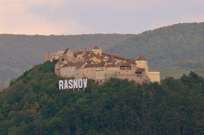 Rasnovcitadel royalty-vrije stock fotografie