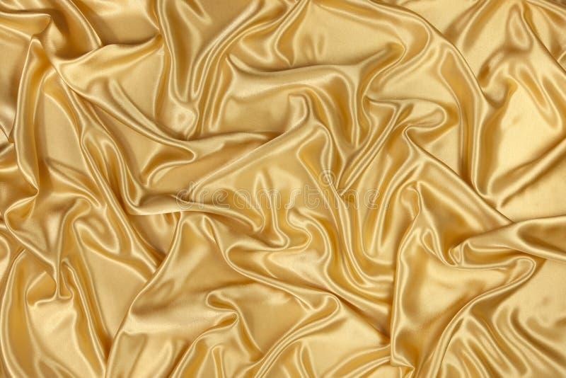 Raso dell'oro immagini stock libere da diritti