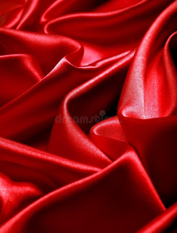 Raso rosso immagini stock