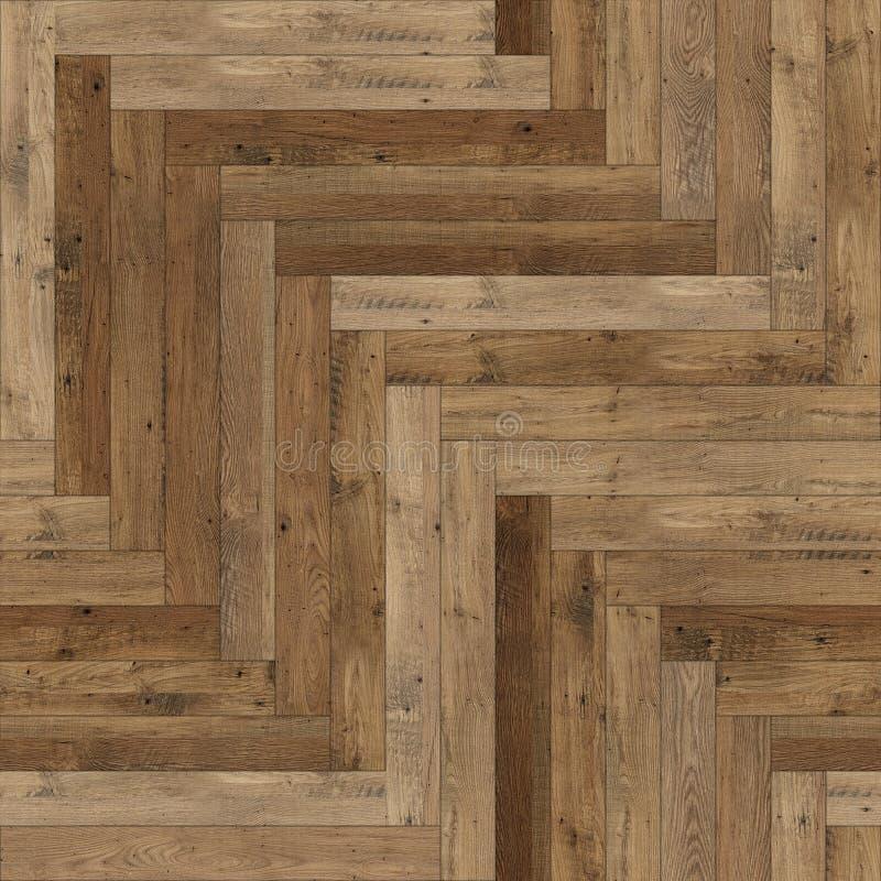 Raspa de arenque de madera incons?til de la textura del entarimado marr?n clara imágenes de archivo libres de regalías
