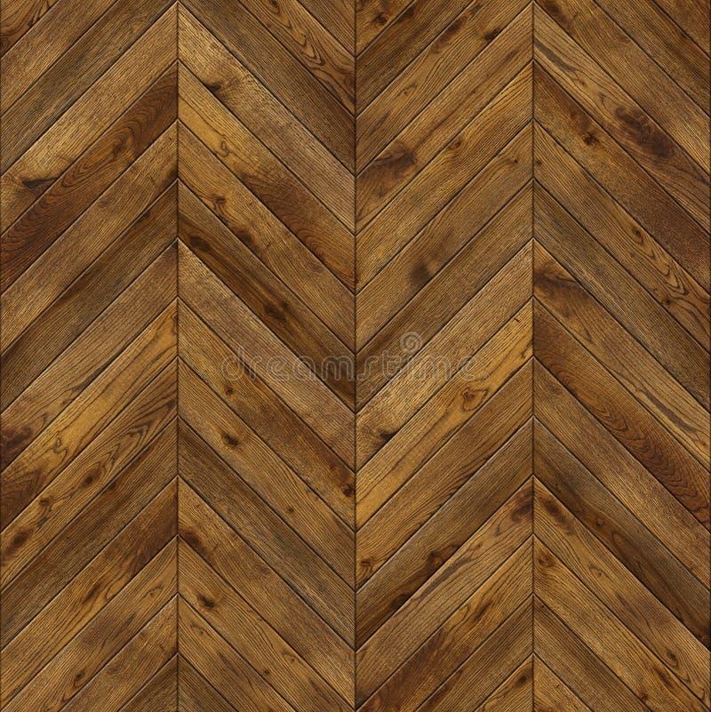 Raspa de arenque, textura inconsútil del diseño del suelo del entarimado del grunge fotos de archivo