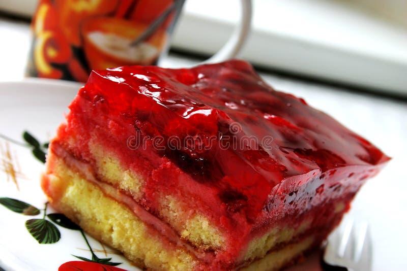 Download Raspberries cake stock photo. Image of icing, austrian - 17958730