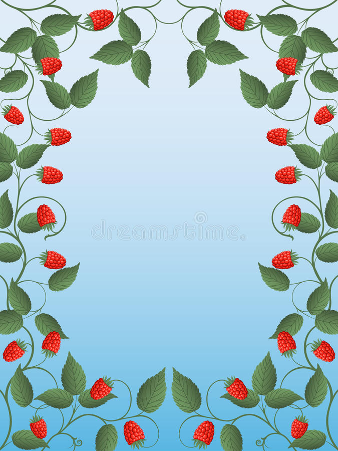 Download Raspberry stock vector. Illustration of pattern, plant - 14854745