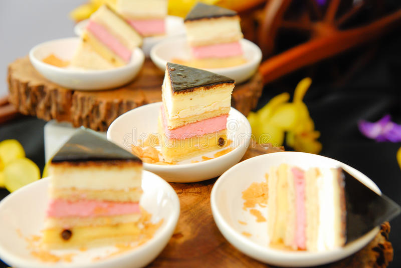 Download Raspberry cake stock image. Image of buffet, meal, delicious - 26314199