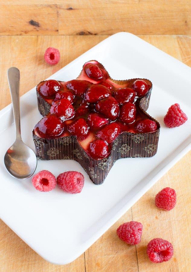 Raspberry Cake Royalty Free Stock Photo
