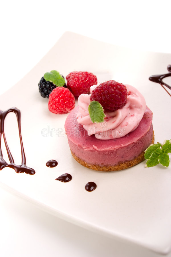 Download Raspberry cheesecake stock image. Image of raspberry, pastry - 4484929