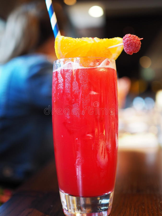 Raspberry Cooler royalty free stock photos