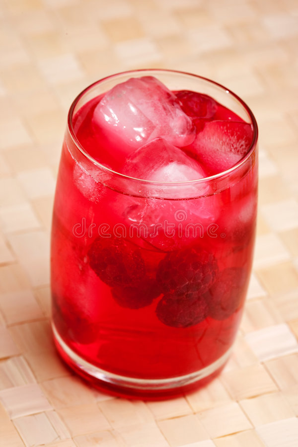 Download Raspberry Drink stock image. Image of serving, food, setting - 9087109