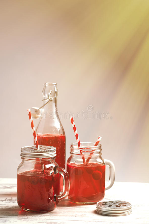 Raspberry Drinks royalty free stock images