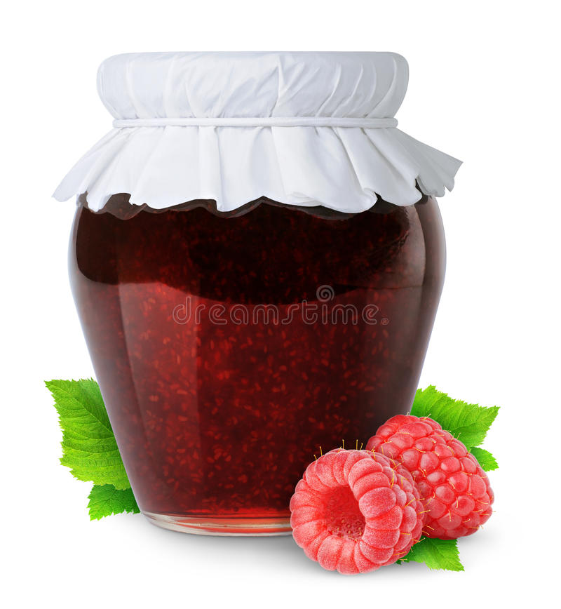 Download Raspberry jam stock photo. Image of preserve, home, made - 19681044
