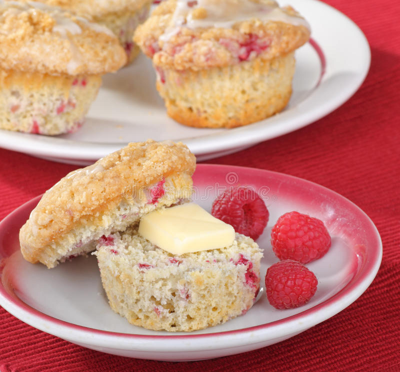 Free Raspberry Muffins Royalty Free Stock Photos - 18270368
