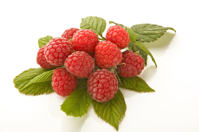 Raspberry´s stock photo