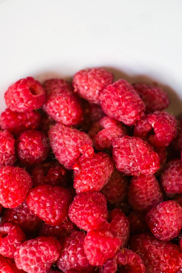 Raspberry organic fruit healthy diet royalty free stock photography