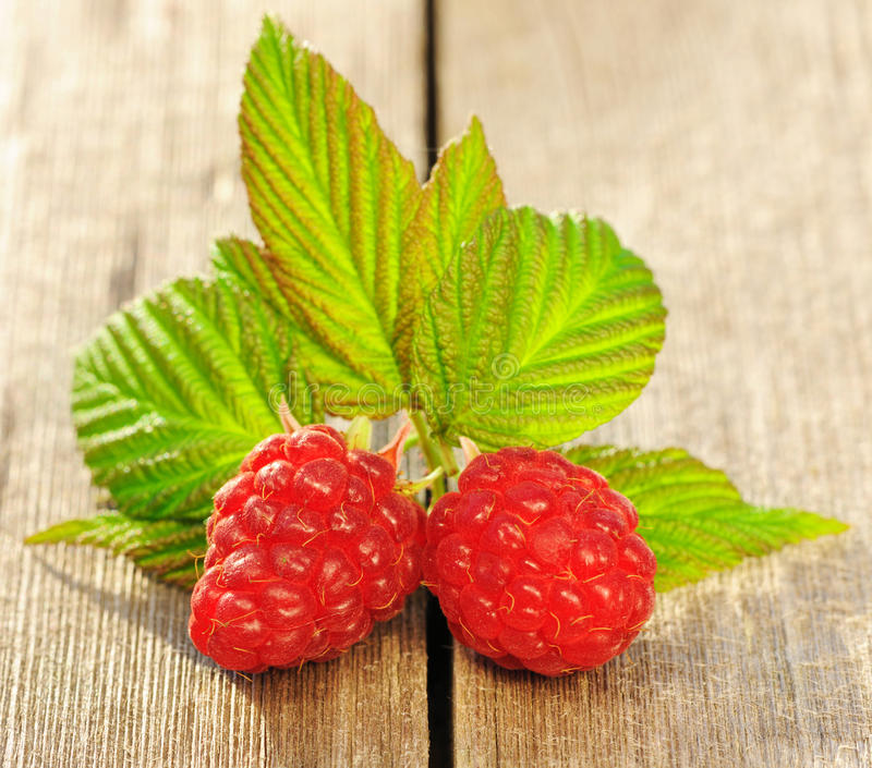 Download Raspberry On Wooden Table Stock Image - Image: 26535131