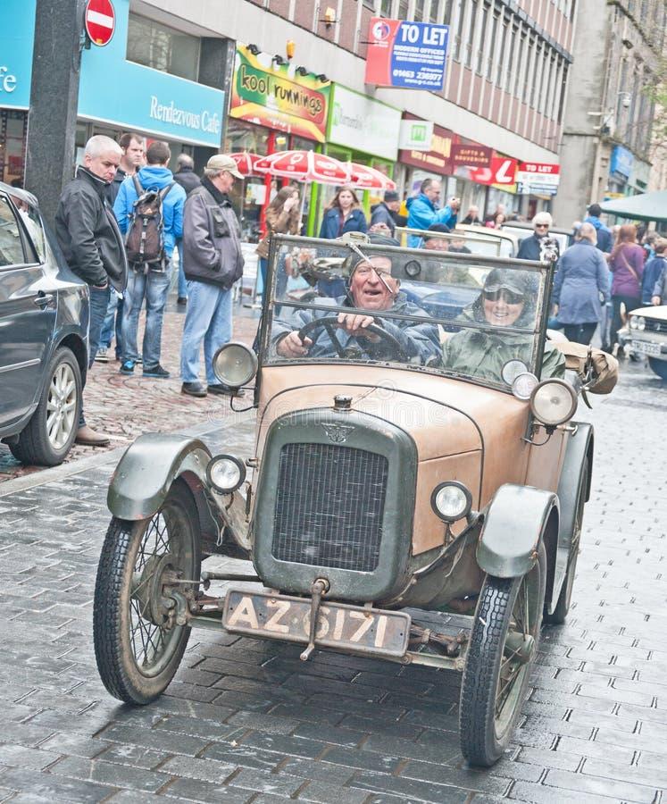 Rassemblement classique de véhicule d'Inverness images libres de droits