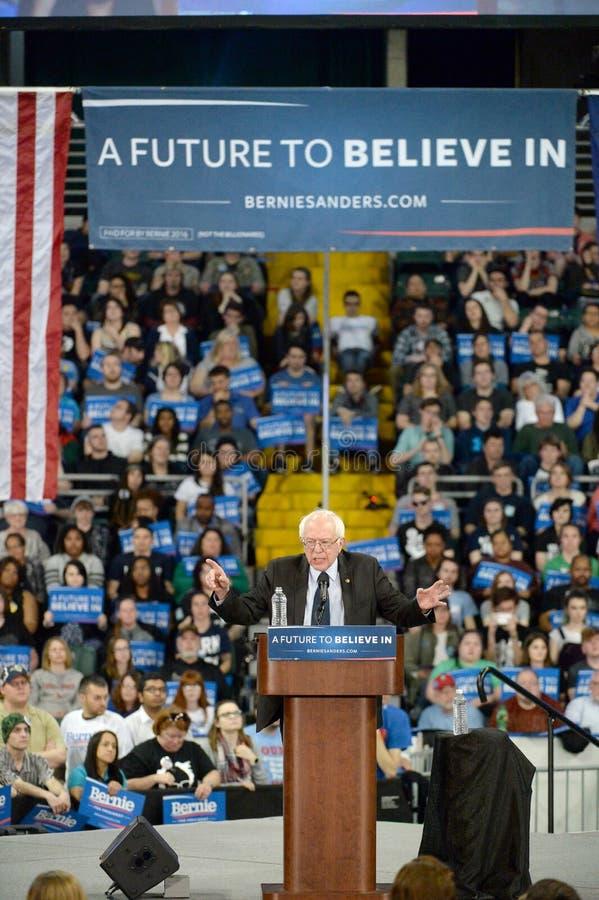 Rassemblement de Bernie Sanders à St Charles, Missouri photos libres de droits