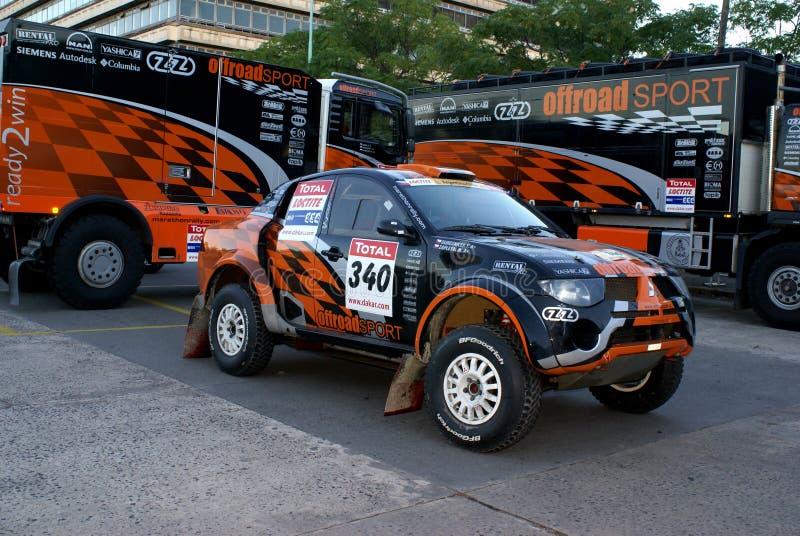 rassemblement de Dakar image stock