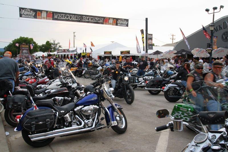 Rassemblement de moto de Sturgis photo libre de droits