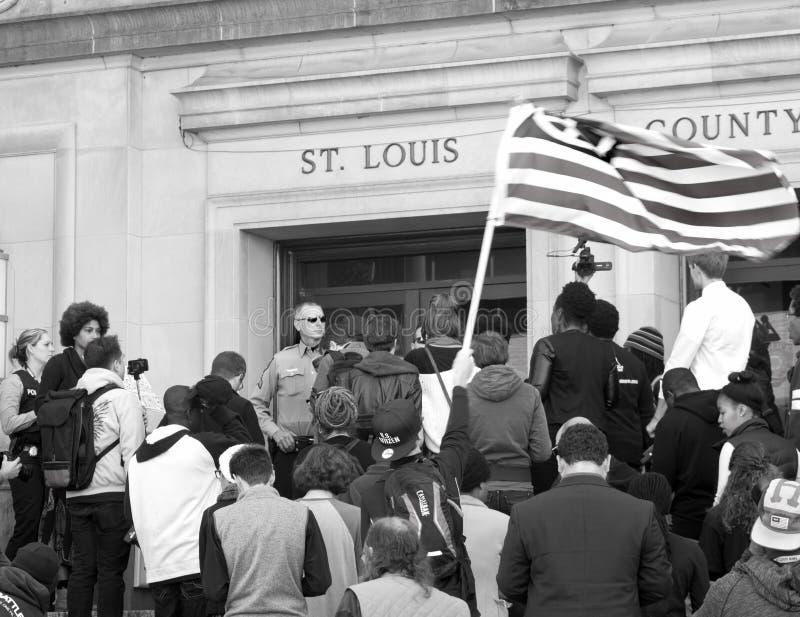 Rassemblement de protestation images stock