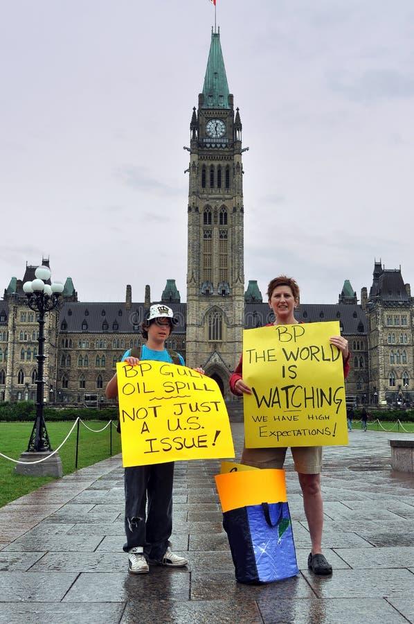 Rassemblement de protestation de point d'ébullition à Ottawa photo libre de droits
