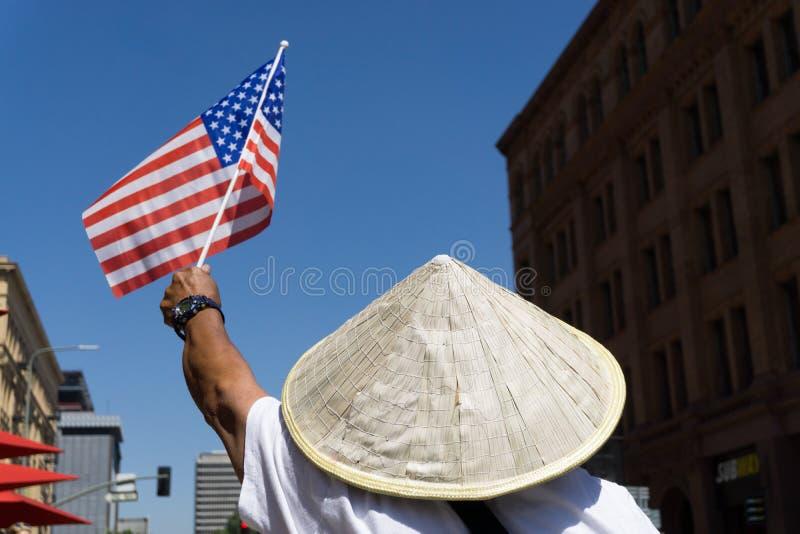Rassemblement de réforme de l'immigration aux Etats-Unis photographie stock