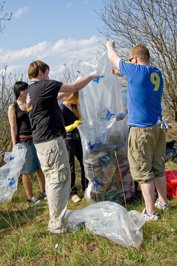 Rassemblement des ordures