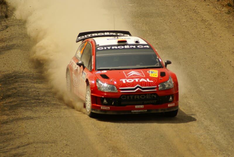 Rassemblement Mexique de corona de WRC images libres de droits