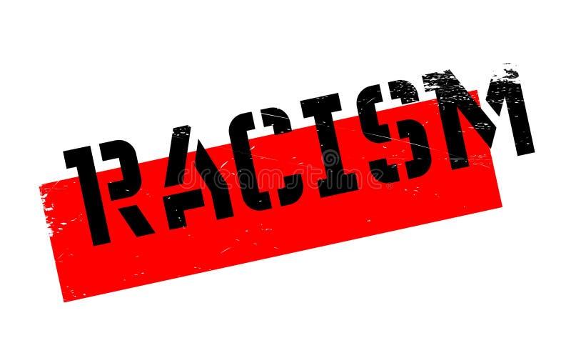 Rassismusstempel lizenzfreie abbildung