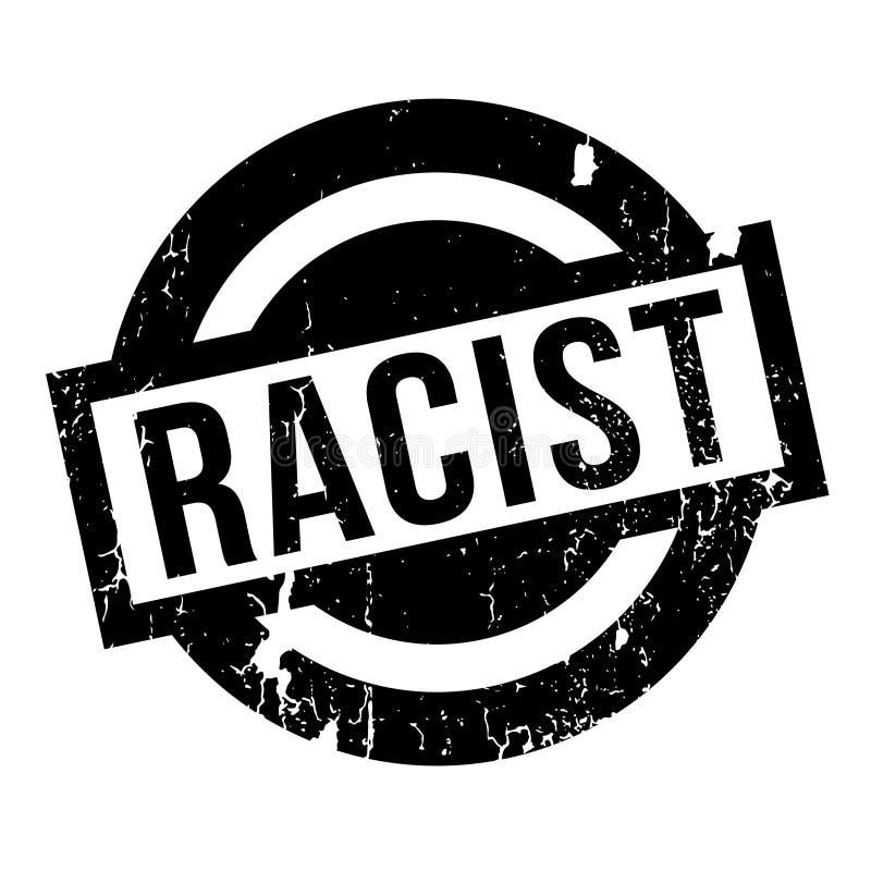 Rassistischer Stempel vektor abbildung