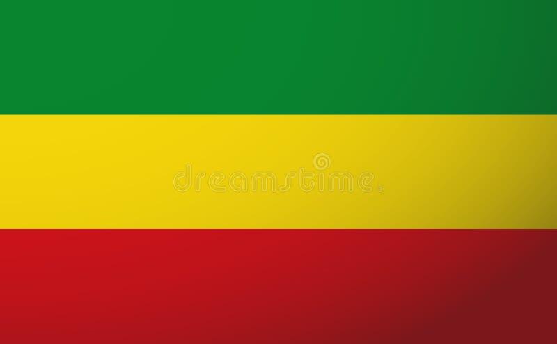 Rasta flag stock image