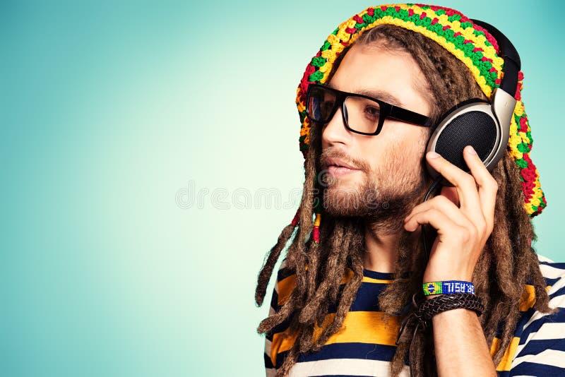 Rasta music royalty free stock photo
