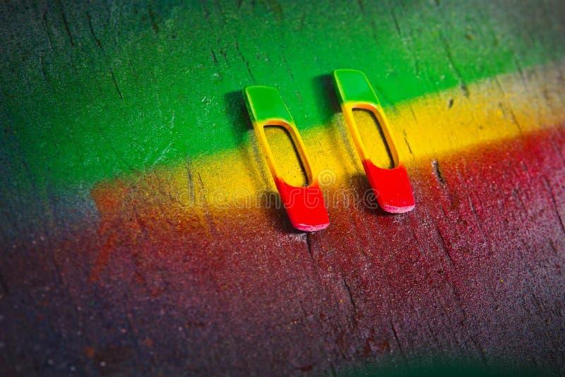 rastafarian σύμβολα στοκ φωτογραφία με δικαίωμα ελεύθερης χρήσης