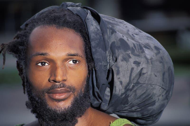 Rastafarian, Тринидад стоковая фотография