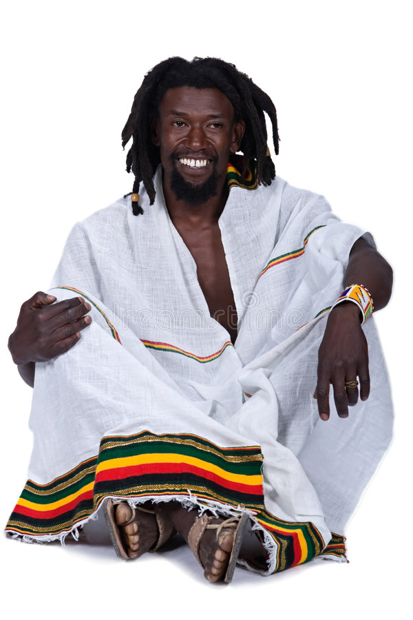 Rastafarian photo stock