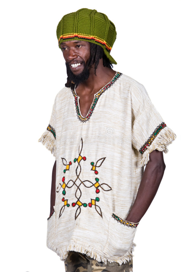 Rastafarian photo stock