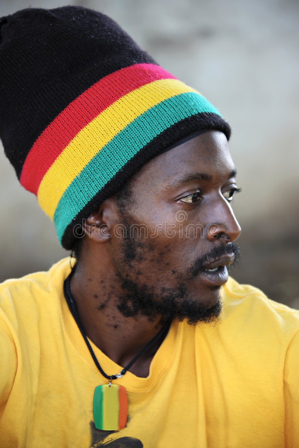 Rastafarian imagen de archivo