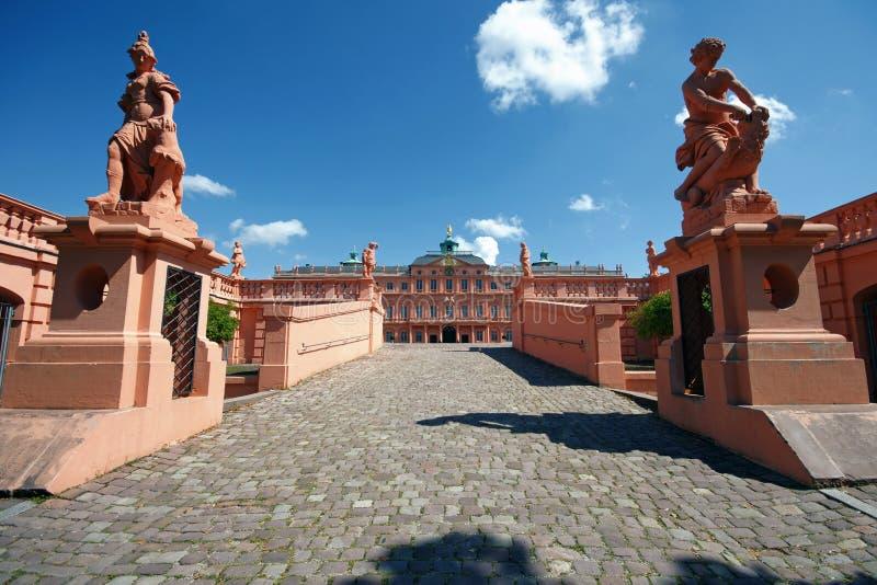 Rastatt residence (Castle)-Germany stock images